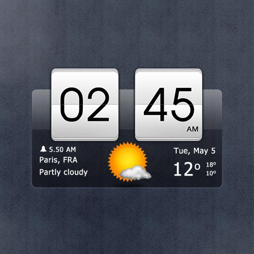 Sense Flip Clock & Weather icon