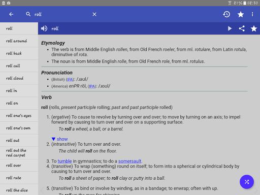 English Dictionary - Offline screenshot 14