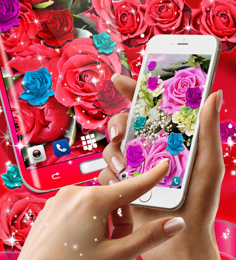 Best rose live wallpaper 2021 скриншот 2