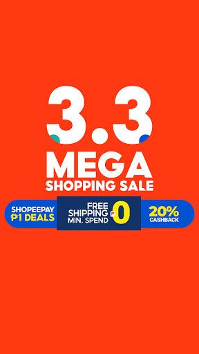 Shopee 3.3 Mega Shopping Sale 2 تصوير الشاشة