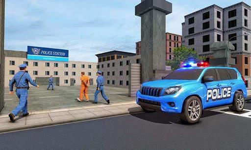 US Police ATV Quad Bike Hummer: Police Chase Games screenshot 7