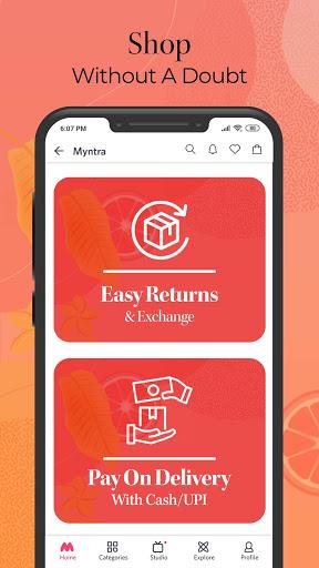Myntra Online Shopping App - Shop Fashion & more screenshot 8