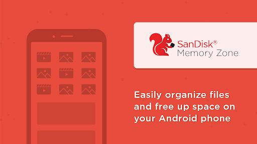 SanDisk Memory Zone 1 تصوير الشاشة