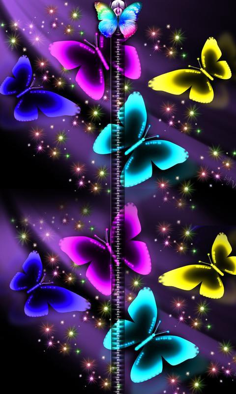 3D Butterfly Zipper UnLock 1 تصوير الشاشة