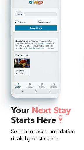 trivago: Compare hotel prices screenshot 1