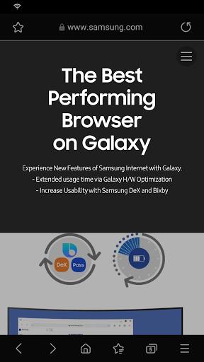 Samsung Internet Browser screenshot 2