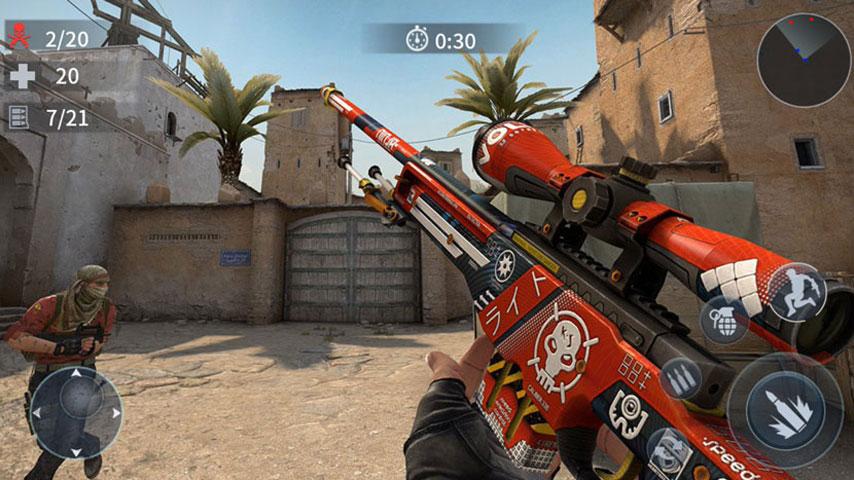 FPS Critical Strike War Attack screenshot 3