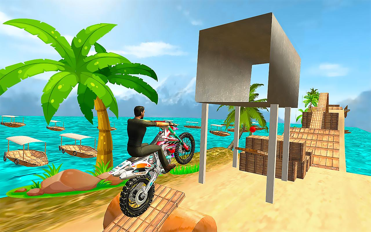 Tricky Bike Moto Stunt Rider screenshot 1