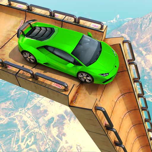 Mega Rampe Car Stunt: Autorennspiele Offline 2021 icon