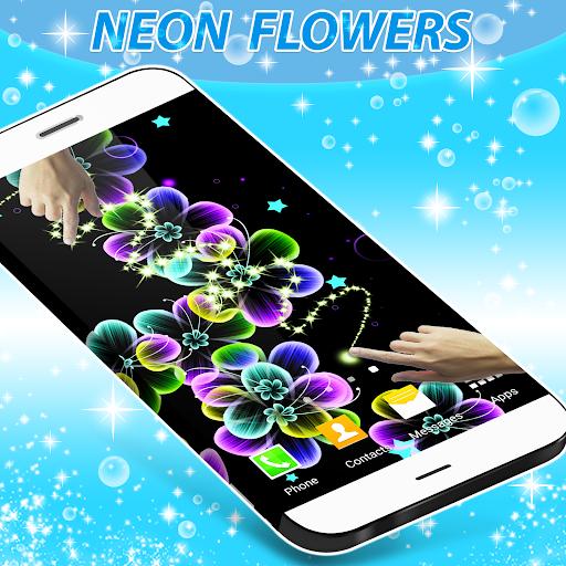 زهور النيون لايف للجدران 4 تصوير الشاشة