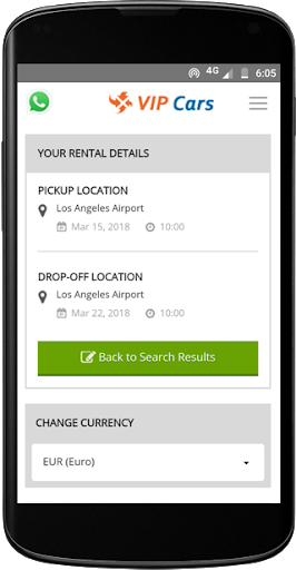 VIPCars.com – Car Rental screenshot 3