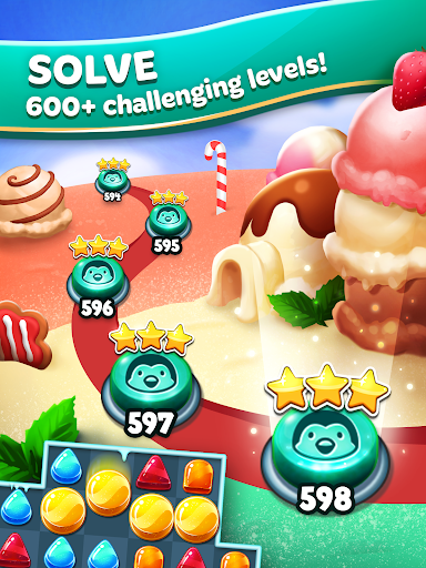 Frozen Frenzy Mania – Match 3 9 تصوير الشاشة
