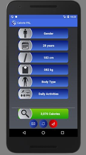 Calorie PAL 1 تصوير الشاشة