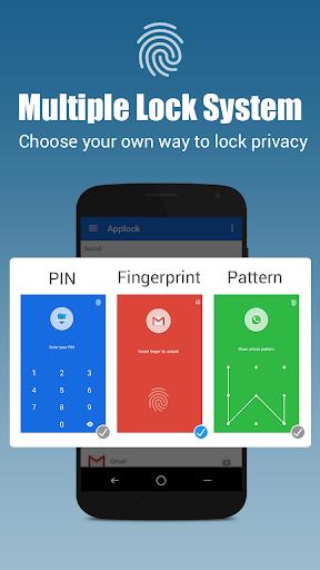App lock - Real Fingerprint, Pattern & Password 2 تصوير الشاشة