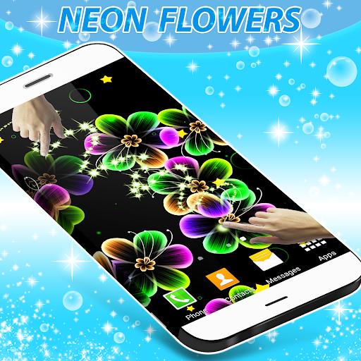 زهور النيون لايف للجدران 2 تصوير الشاشة