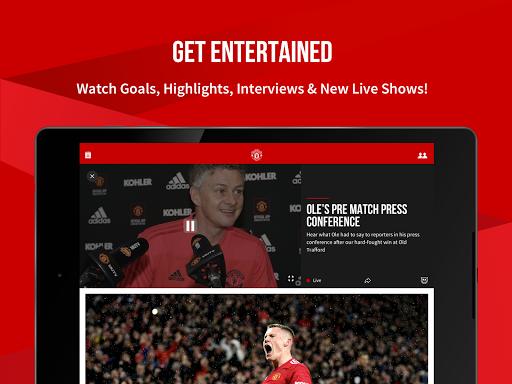 Manchester United Official App 9 تصوير الشاشة