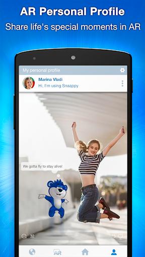 Snaappy - AR Social Network screenshot 4
