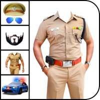 Men Police Suit Photo Editor on APKTom