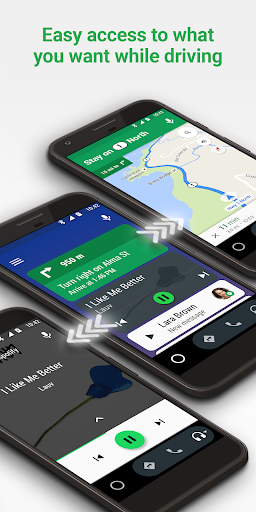 Android Auto - Google Maps, Media & Messaging screenshot 5