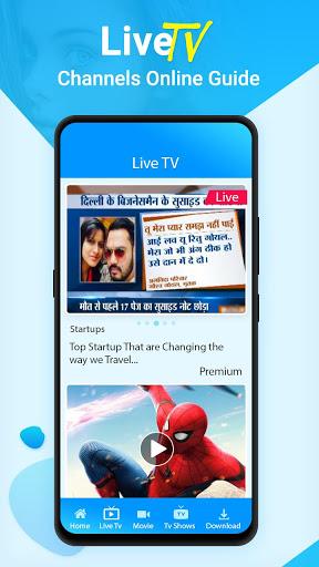 Live TV Channels Free Online Guide screenshot 3