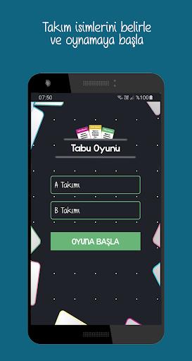 Tabu screenshot 2