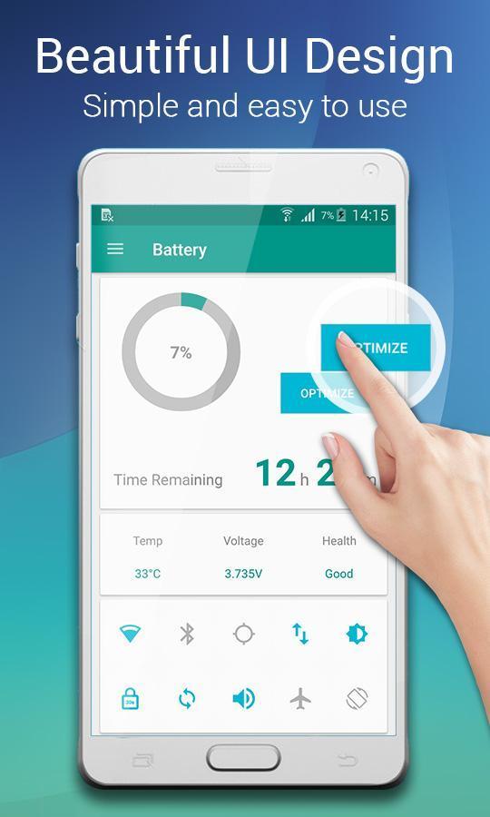 Smart Battery Doctor Battery Saver & Booster 1 تصوير الشاشة