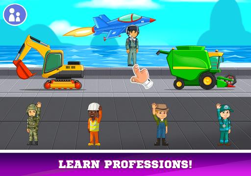 Kids Cars Games! Build a car and truck wash! screenshot 21