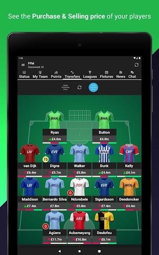 (FPL) Fantasy Football Manager for Premier League screenshot 12