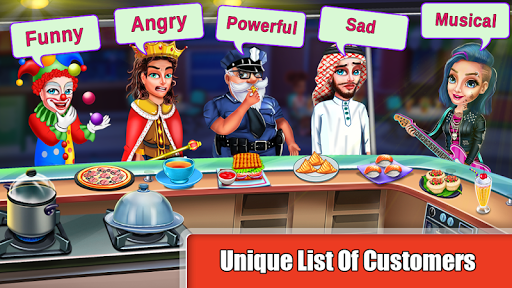 Cooking Express : Food Fever Cooking Chef Games 7 تصوير الشاشة