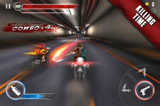 Death Moto 3 : Fighting Bike Rider 2 تصوير الشاشة