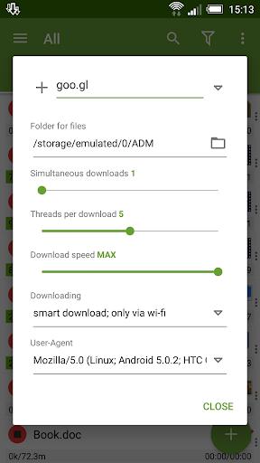 Advanced Download Manager & Torrent downloader 7 تصوير الشاشة