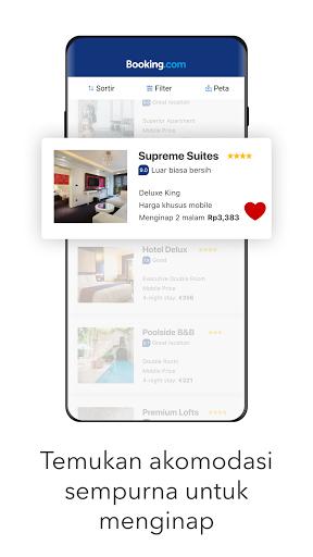 Booking.com Pemesanan Hotel screenshot 1
