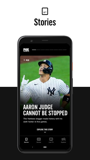 FOX Sports: Latest Stories, Scores & Events 2 تصوير الشاشة