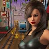 Temple Princess Girl Runner 3D :  Surf Run on 9Apps