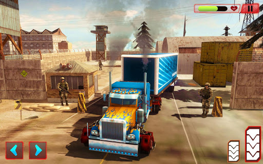 Grand Police Truck Robot War Transform Robot Games screenshot 12