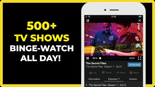 FREECABLE TV App: Free TV Shows, Free Movies, News 4 تصوير الشاشة