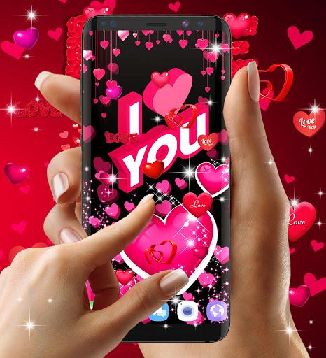 Love live wallpaper 4 تصوير الشاشة