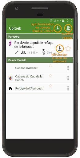 Ubitrek - your hiking companion screenshot 2