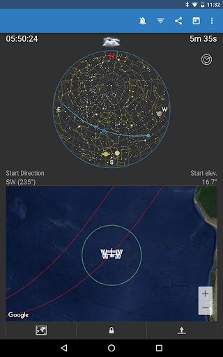 ISS Detector كاشف محطة الفضاء الدولية 8 تصوير الشاشة