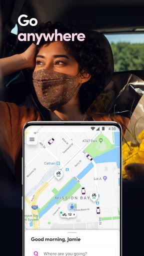 Lyft - Rideshare, Bikes, Scooters & Transit screenshot 1