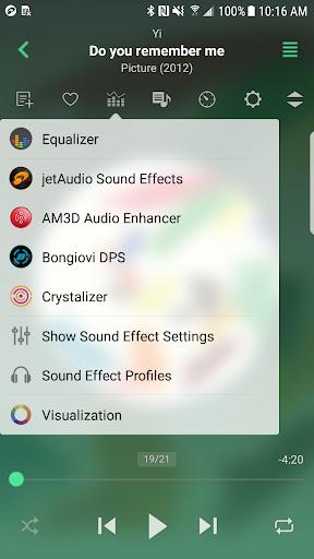 jetAudio HD Music Player 1 تصوير الشاشة