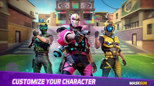 MaskGun Multiplayer FPS - Shooting Gun Games screenshot 2