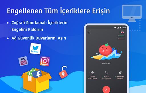Ücretsiz VPN Tomato | En Hızlı Ücretsiz VPN Proxy screenshot 3