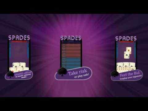 Spades - Offline Free Card Games screenshot 1