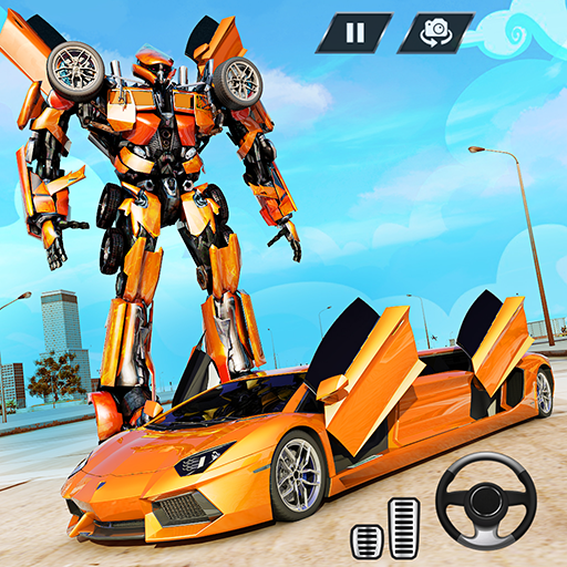 Real Limo Robot Car Transformation Games 2021 icon