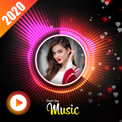 Wave Music : Particle.ly Video Status Maker أيقونة