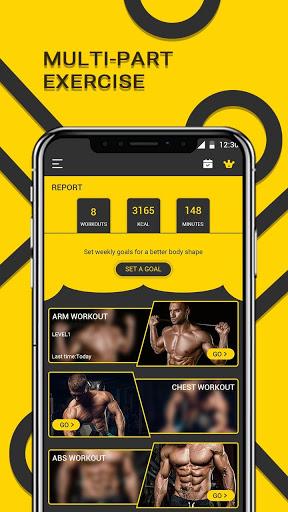 Male Fitness screenshot 1