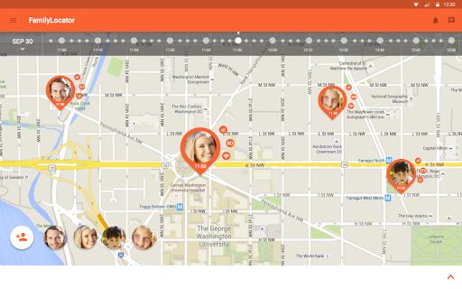 Zoemob Family Locator screenshot 9
