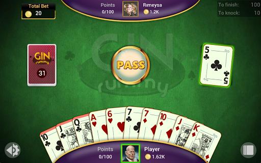 Gin Rummy - Offline Free Card Games 12 تصوير الشاشة