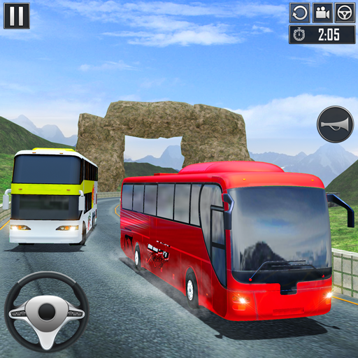 Uphill Bus Driving Simulator - Coach Bus Driver icon